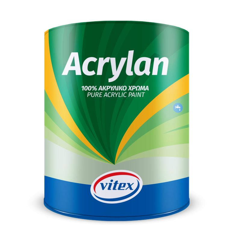 Vitex Acrylan 0.75lt Λευκό